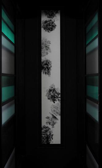 [ 美食倶楽部 祇園 ]  2006.Dec H1800*W250 mm