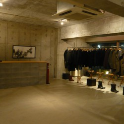 [ kammer clothing shop ]   2007.Aug H650*W1100 mm