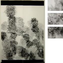 [ waver ]   Mar.2007 H2000mm*W1400mm hanging scroll